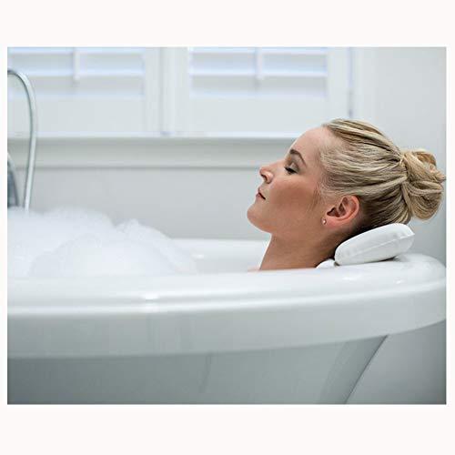 ZJXYYYzj Almohada De Bañera, PU 3D con Ventosa Home Luxury Almohada de baño Bañera Almohada bañera de hidromasaje Habitación Almohada Accesorios de baño