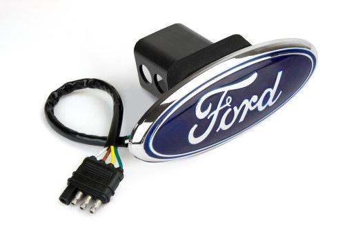 Reese Towpower 86061 Cubierta de luz LED para Enganche con Placa, Ford, Acabado Cromo