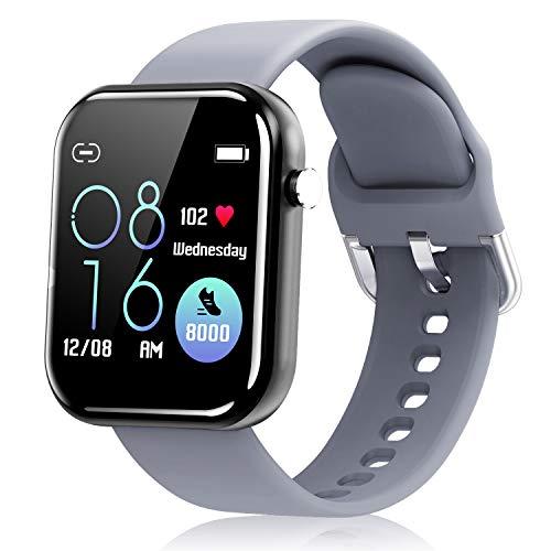 Smartwatch Damen Herren, Fitness Tracker für...