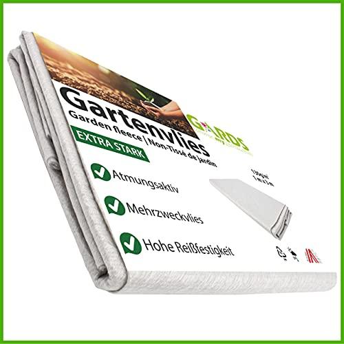 Gards NEU Gartenvlies - Trennvlies - Kiesunterlage, Drainagevlies, reißfest - lichtdurchlässig - atmungsaktiv - UV stabilisiert - GRAU, 3x1 Meter, 130g/m2