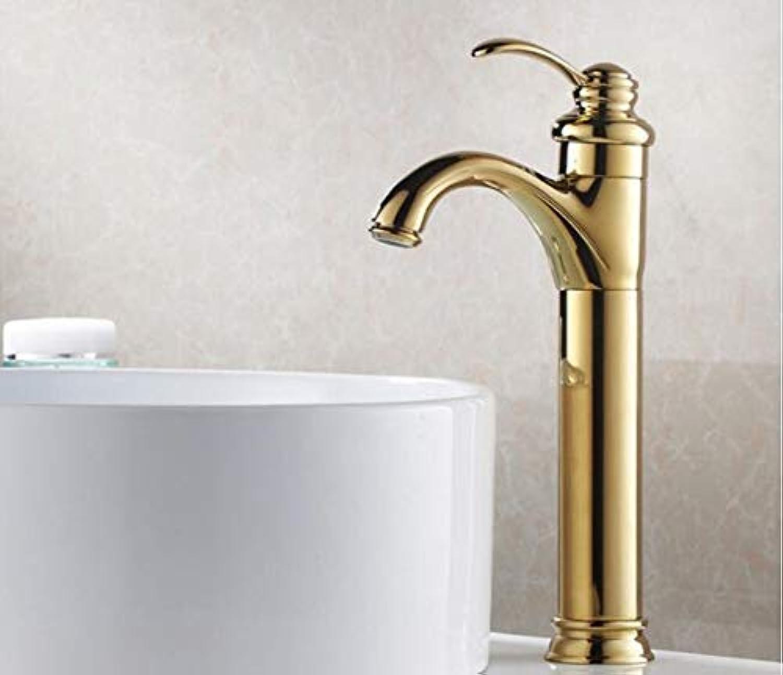 Einlochmontage Cold Hot Becken Wasserhahn Bad Gold Armaturen Wasserhhne Waschtischmischer Hochwertiges Küchenzubehr