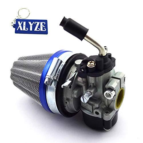 XLYZE Vergaser von Dellorto, Ersatzteil, Style SHA, 14 mm, für Tomos A35 Golden Bullet Targa LX TT Sprint Colibri