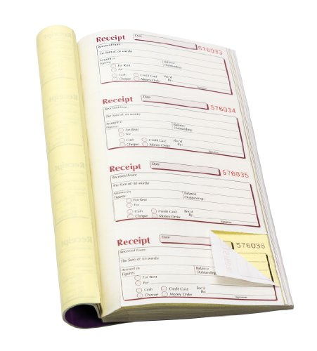 Pukka Pad Lieferscheine, 1 Durchschlag, kohlefreies Durchschreibepapier, in englischer Sprache, 140x276mm, 5Stück