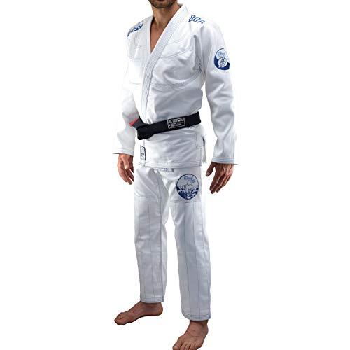 Bõa BJJ GI Road Trip, Kimonos (Brazilian Jiu Jitsu) Hombre, blanco, A3