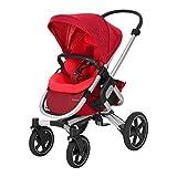 Bébé Confort Nova Passeggino Fronte Retro Reversibile, Compatto, 4 Ruote Ammortizzate, Vivid Red