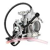 Fashion SHOP Carburador Motocicleta Carburetor Carbo Metal Fit Compatible con Arctic Cat 2008 2009 2010-2017 400 500 Piezas de la Motocicleta Controlar