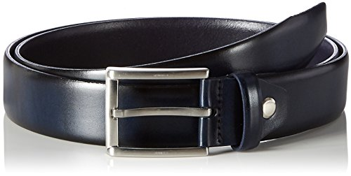 MLT Belts & Accessoires - London, Cintura Uomo, Blu (navy 1200), 105 cm
