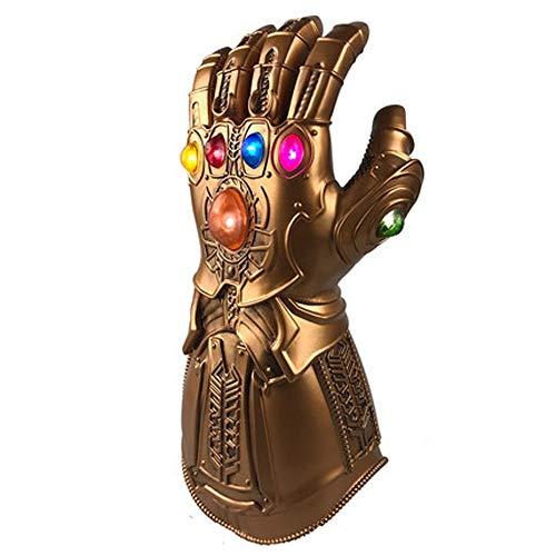 Q Marvel speelgoed Thanos Gloeiende Handschoenen - Adult Wear - Kunststof, Size, Motley