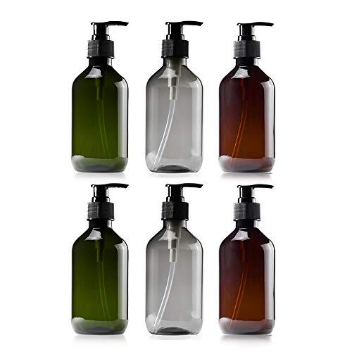 Reisflessen Set Organized Leak Bewijs Reismaat Reiscontainers Voor Vloeistoffen Shampoo Conditioner Set van 6