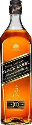 ジョニーウォーカー ブラックラベル 12年 [ ウイスキー イギリス 1000ml ]