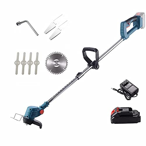YLJJ Cortacésped eléctrico Recargable, cortacésped doméstico pequeño, podadora de setos, cortadora de...