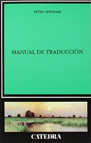 Manual de traducción (Lingüística)