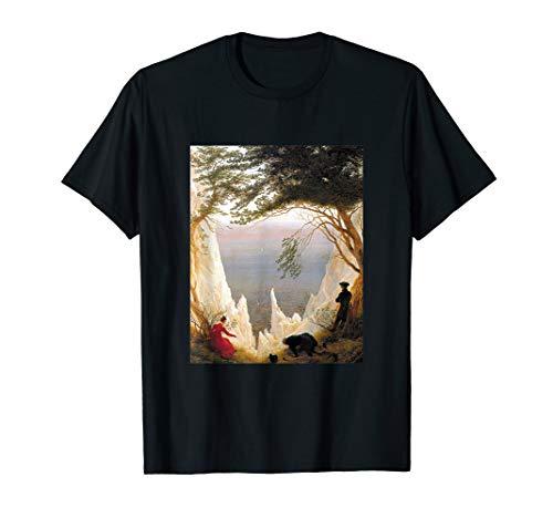 Kreidefelsen auf Rügen von Caspar David Friedrich T-Shirt