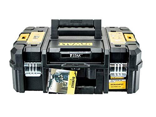 DEWALT CARRYING CASE BLACK T-Stak CASE TOOLBOX FITS MOST 18V CORDLESS XR DRILLS DCD795 DCF886 DCF836 DC
