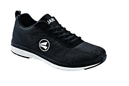 JAKO Herren Striker Sneaker, Schwarz (Schwarz 08), 41 EU