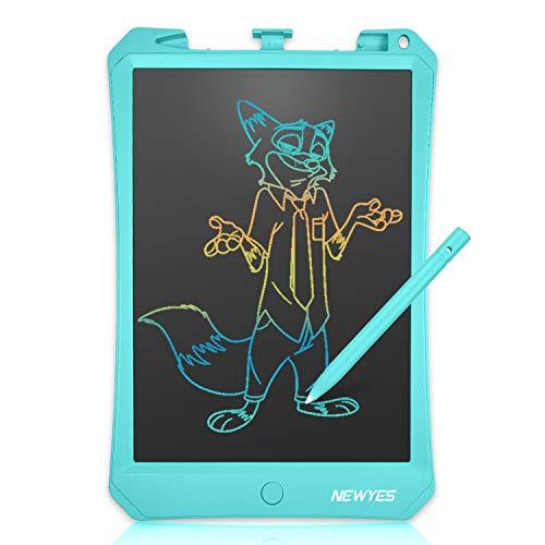 NEWYES Pizarra electrónica 10.5 Pulgadas , Tableta de Escritura LCD, Tablet para Niños 10 Pulgadas (10.5' Celeste)