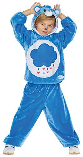 Rubie's Kinder Kostüm Brummbärchi Gr. 104-140 blau Glücksbärchis Fasching Karneval (116)
