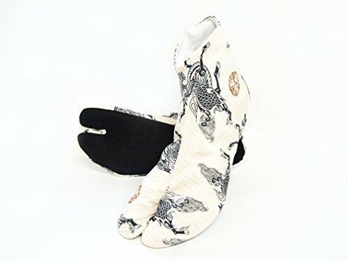 『[武蔵野ユニフォーム]【ポップ足袋 男性向 麒麟】 柄足袋 《091-kirin》 (25.0)』の1枚目の画像