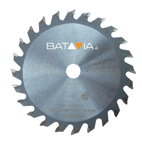 Batavia 7061239 TCT Sägeblatt 24T ∅89mm, Mehrfarbig