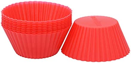 AKOAK Reusable Silicone Non stick Baking Cups Cake Molds Kitchen Baking Cooking Accessories product image