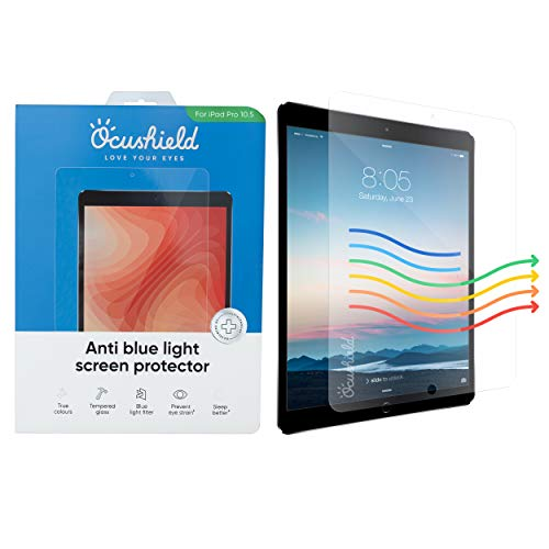 Great Features Of Ocushield Anti Blue Light Screen Protector for 9.7 Apple iPad, iPad Air/Air 2, iP...