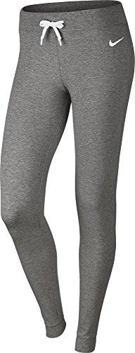 Nike Damen Sportswear Cuffed Trainingshose, Dark Grey Heather/White, M