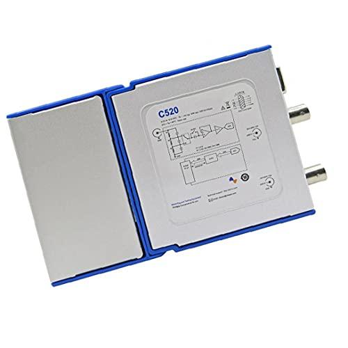 Virtuale oscilloscopio digitale a doppio canale dell oscilloscopio 25MHz di banda 50M portatile C520 oscilloscopio portatile