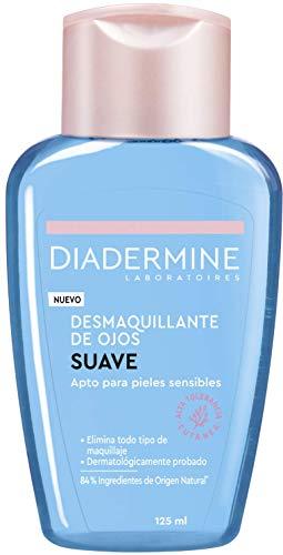 Diadermine - Desmaquillador de ojos, 2 uds de 125ml (250ml), Elimina el maquillaje de manera eficaz sin irritar la piel