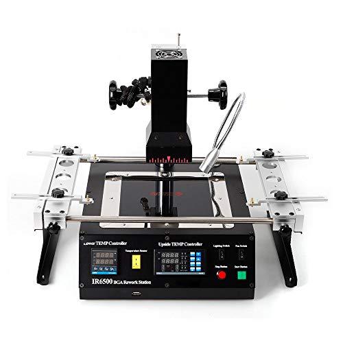estaci/ón de soldadura IR IRDA Welder Infrared SMT SMD BGA Rework Station Soldar Welder Soldering Machine 800W SENDERPICK T862+ Estaci/ón de soldadura por infrarrojos