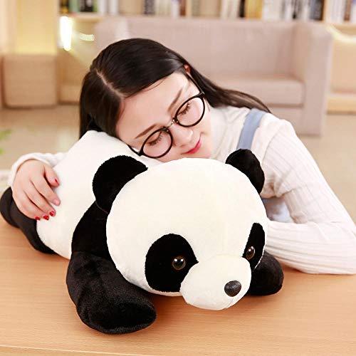 VGSD Kawaii Lying Panda Plush Toys, Muñeca De Peluche, para Niños Regalo De Cumpleaños para Niños Linda Siesta Y Almohada De Sofá 50Cm