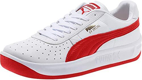 PUMA Gv Special Zapatillas deportivas para hombre, (Puma - Cinta de pelo, color blanco y rojo), 42.5 EU