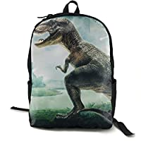 クール恐竜三次元 バックパック リュック 男女兼用 大容量 多機能 リュックサック 旅行 通勤 通学 PC収納 高耐久性