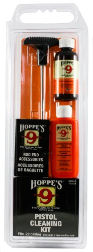 Hoppe's No. 9 Cleaning Kit with Aluminum Rod, .22 Caliber Pistol