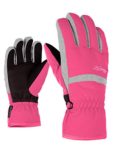Ziener Kinder Lejano As(r) Glove Junior Ski-handschuhe, pop pink, 3.5 (XS)