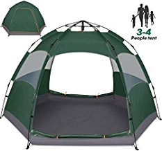 Amagoing 3-4 Person Tents for Camping Instant Setup Tent...