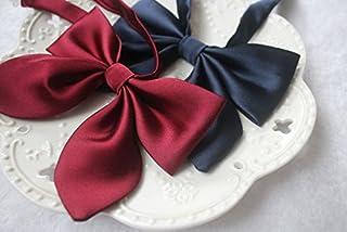 (sunlike) 制服のリボン 赤/紺/ピンク/ブラウン (赤)