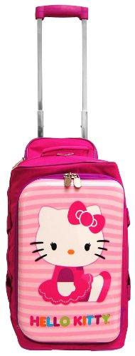 18' Sanrio Hello Kitty Rolling Luggage Duffle Bag