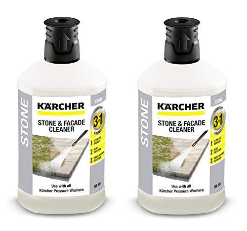 Set: 2x Kärcher Stein- und Fassadenreiniger 3-in-1 (1 l) 6.295-767.0