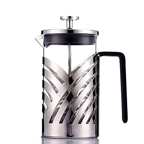 ZFFSC Pers Pot Franse Pers Pot Hand Gebrouwen Koffiepot Koffie Apparaten Thuis Met Herbruikbare Filter Meshes