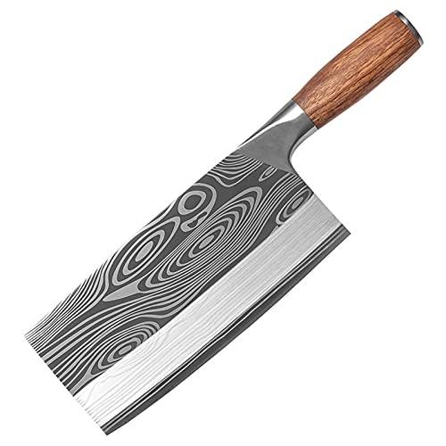 Xizdth Carnicero Cuchillo de Cocina Cuchillo de Acero Inoxidable Chef Chef DE Cuchillo Carne DE Cleaver Cleaver STICING HORRAS Chef Chef Chef Chef (Color : Knife 4)