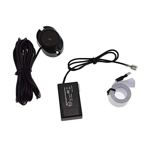 DINGZH-HANGZH Parksensor Mit Elektromagnetischer LED Es Müssen Keine Löcher Für Die Einparkhilfe Vorne Und Hinten Gebohrt Werden Rückfahrhilfe Auto Parken Sensor System (Color : A)