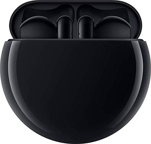 HUAWEI FreeBuds 3 kabellose Kopfhörer mit aktiver Geräuschunterdrückung (Kirin A1 Chip, geringe Latenz, ultraschnelle Bluetooth-Verbindung, 14mm Lautsprecher, kabelloses Aufladen) + Gutschein, schwarz - 6