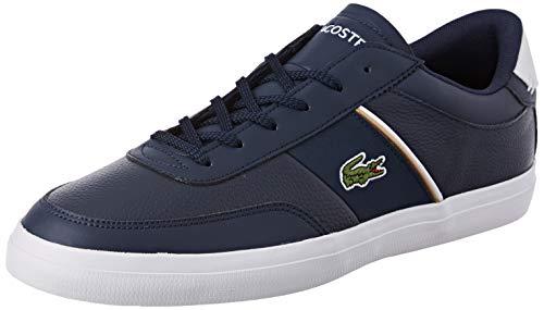 Lacoste Court-Master 319 6 CMA, Zapatillas para Hombre, Azul (Navy/White 092), 45 EU