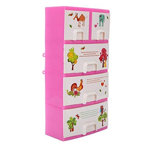 logozoee Puppenschrank, Wohnkultur Schrank Kleiderschrank Puppenschrank, Puppenzubehör Spielzeug Kunststoff Material Schlafzimmer für Geschenke Home Kids
