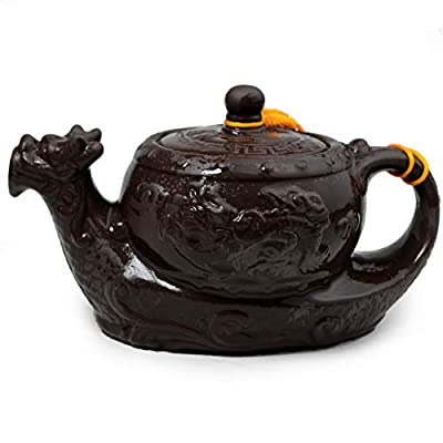 Chinese Yixing Purple Clay Teapot Dragon Tea Pot Ceramic Traditional Kung Fu Tea Set