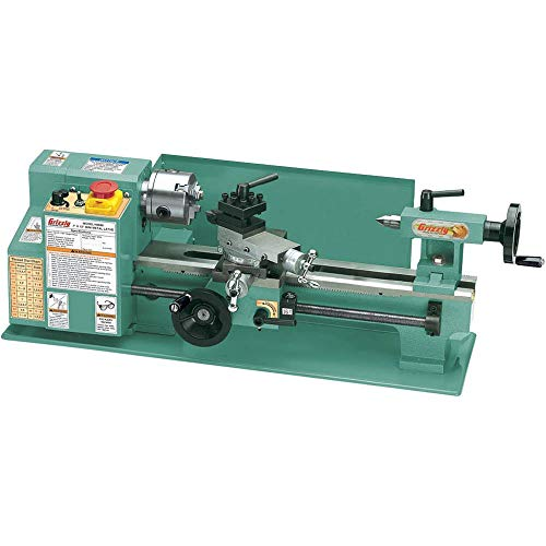 top rated Grizzly G8688 miniature metal lathe, 7 x 12 inches 2020