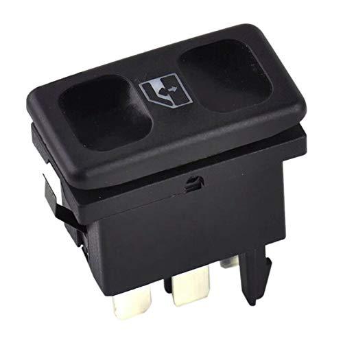 CZLSD Accesorios para automóviles Interruptor de Control de la Ventana de la Ventana de Potencia de Metal Negro de plástico para Golf JE-TTA MK2 1985-1987 1988 1989