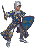 Papo- Prince Philippe Bleu Le Monde Medieval Figurine, 39253, Multicolore