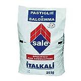 Sale in Pastiglie per Addolcitori Acqua Depuratori Salgemma Naturale Italiano Sacco 25KG - Consegna a Domicilio Gratuita