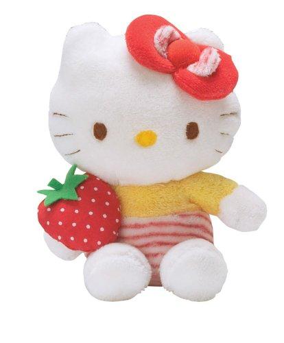 Augusta du Bay - 150633 - Bean Bag - Hello Kitty avec une Fraise dans la Main